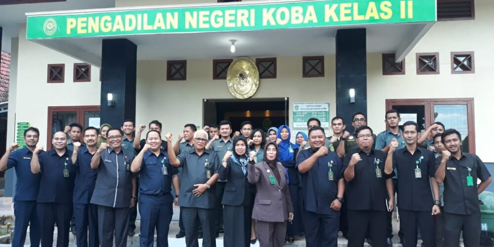 Pembinaan Dan Pengawasan Daerah Pengadilan Negeri Koba Diwilayah Hukum Pengadilan Tinggi Bangka Belitung