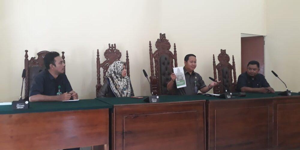 Rapat Persiapan Akreditasi Di Pengadilan Negeri Koba