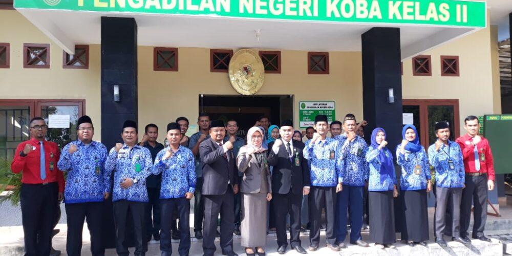 Pelaksanaan Upacara Hari Kesaktian Pancasila Pada Pengadilan Negeri Koba