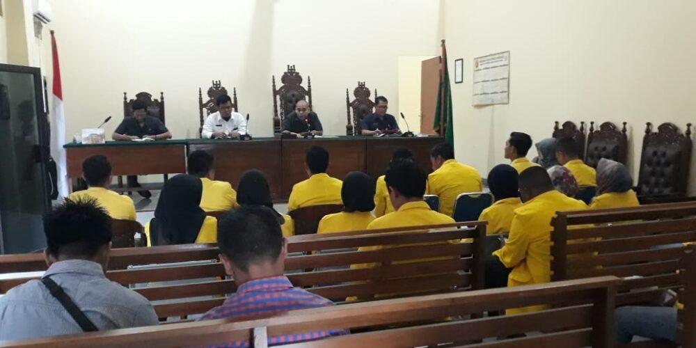 Observasi Persidangan Perkara Pidana Dan Perkara Perdata Mahasiwa/i Universitas Terbuka Pangkal Pinang Ke Pengadilan Negeri Koba