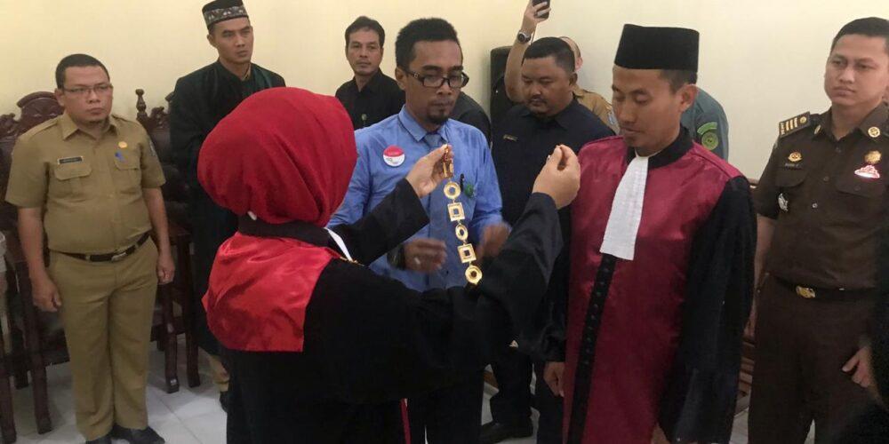 Pengambilan Sumpah Jabatan Dan Pelantikan Wakil Ketua Pengadilan Negeri Koba