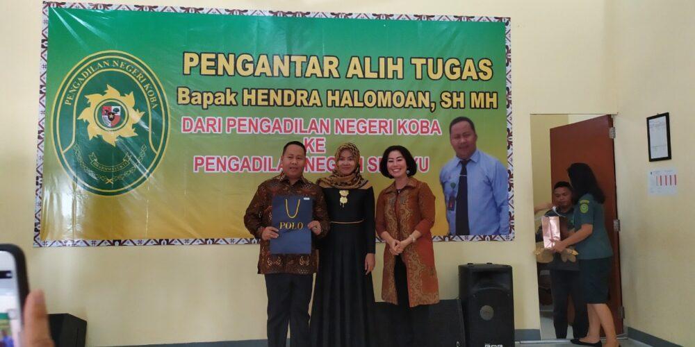 Pengantar Alih Tugas Ketua Pengadilan Negeri Koba